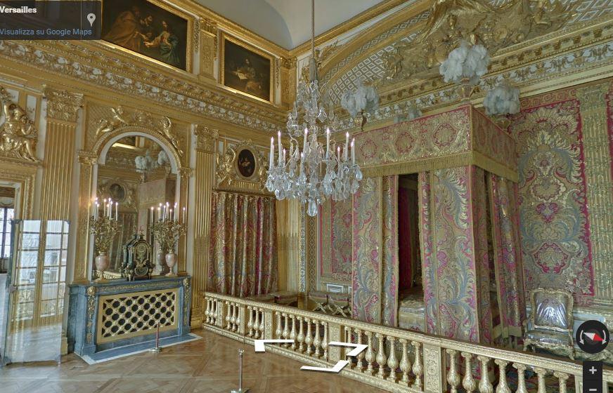 La Reggia di Versailles in realtà virtuale